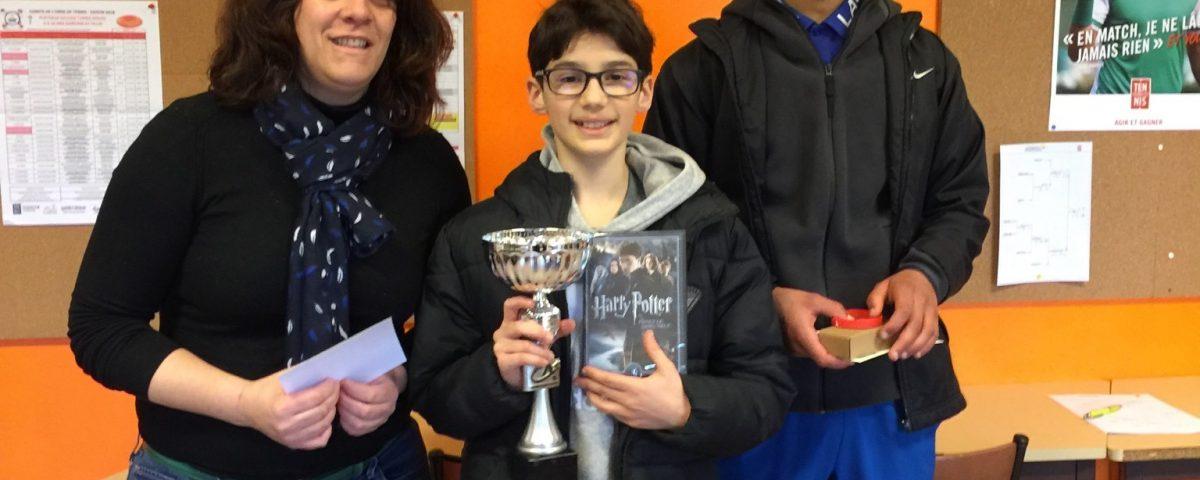 Martin Fraboulet remporte le tournoi de Sees