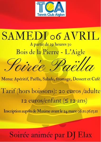 Affiche Paella
